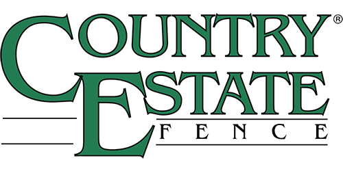 Illustrated Country Estate Fence logo