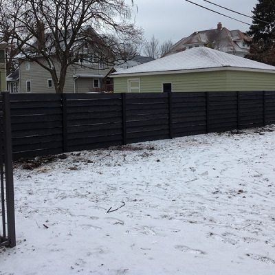 Photo of the Chavez fence after installation