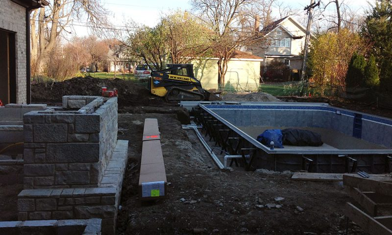 A photo of the Chavez home before First Fence installed a custom fence