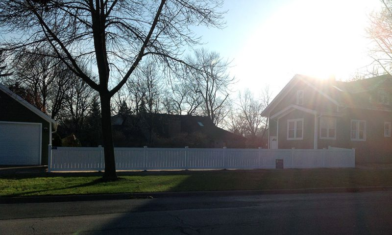 First Fence installed this beautiful fence for the Heywood family