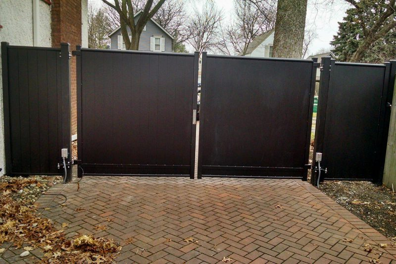 Photo of an access control fence installed by First Fence Company in Hillside, IL