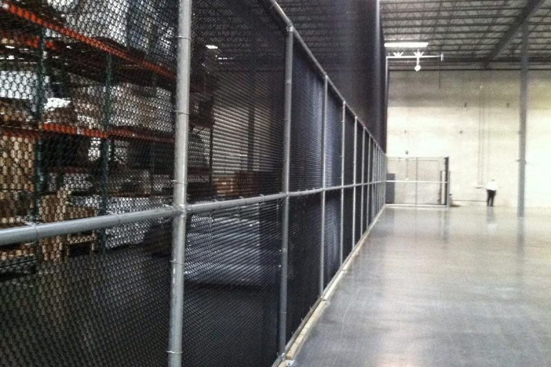 Photo of a custom high security fence installed by First Fence
