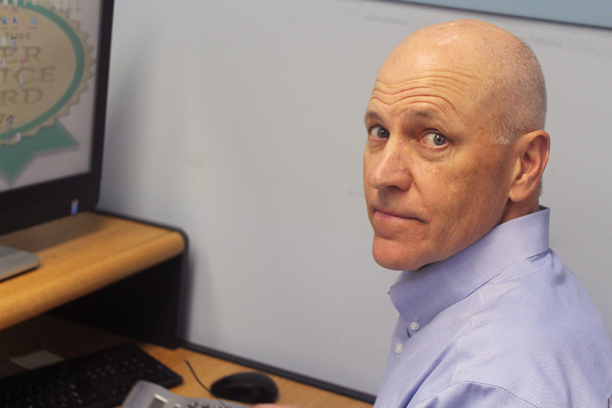 Photo of First Fence employee Dan Buenz