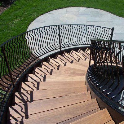 Photo of an iron railing - First Fence
