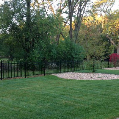 Photo of an iron fence - First Fence