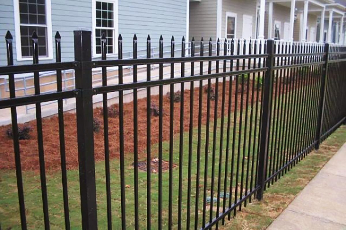 Ornamental steel fencing in chicago fence company