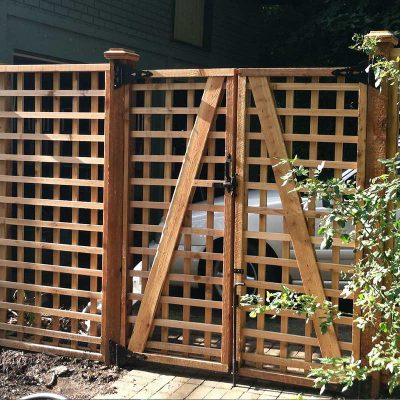 Photos of Pergolas, Trellis and Custom Woodworking - First Fence