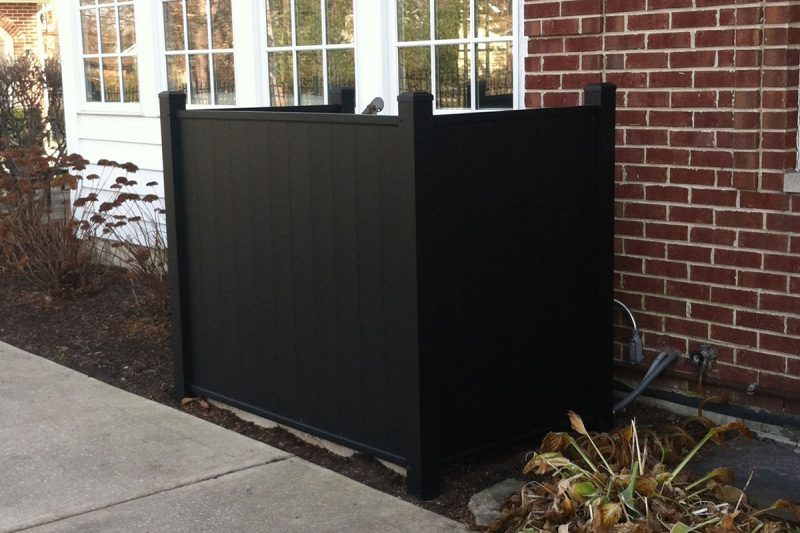 Photo of a specialty privacy fence installed by First Fence