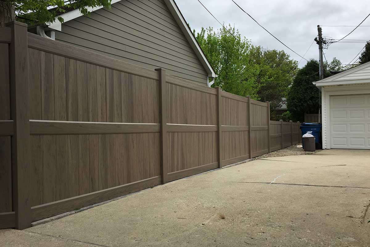Vinyl pvc fences first fence