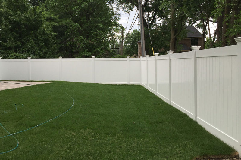 Custom elegant and secure aluminum fence installed by First Fence