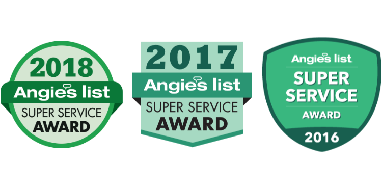 Angie's List SSA Awards Logos