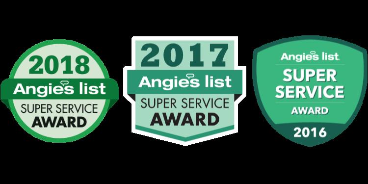 Angie's List SSA Awards Logos