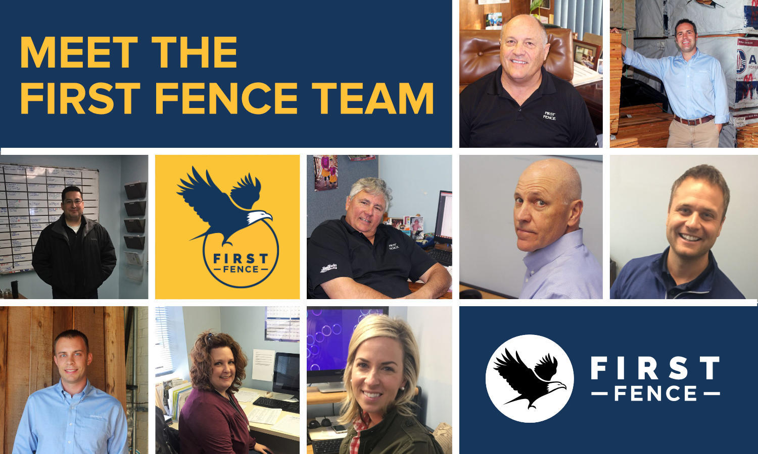 Photo of First Fence team members